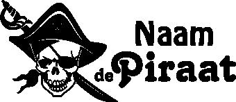 Muurstickers Kinderkamer Piraat.Muurstickers Piraat Met Naam Voor De Kinderkamer Kinderkamer