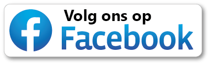 Sticker - Volg ons op Facebook met logo in cirkel - Social-media | Stickers  JL-Design SPL021