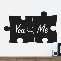 You and Me in puzzelstukjes
