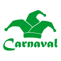 Carnaval met narrenmuts